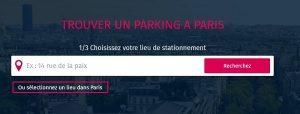 parking Père Lachaise
