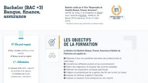 Licence assurance Rennes