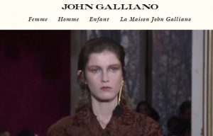 maroquinerie john galliano