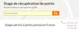 récupération de points Grenoble
