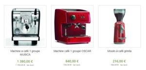 machine à café musica pas cher