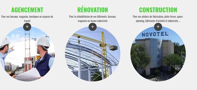 entreprise rénovation de bâtiments industriels